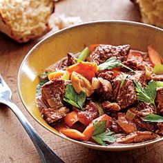 provencal beef daube from cooking light.  slow cooker recipe