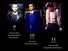 I know 9 and 10 are accurate, but since it took me SO long to say goodbye to Ten, I am not sure if 11 is true... Let's hope it is.