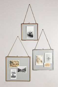 Hinged Hanging Frame -- for hanging in windows? pressing flowers? other crafty things?
