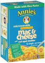 Annie's Gluten-free Rice Pasta & Cheddar Macaroni & Cheese - guilt free comfort food!