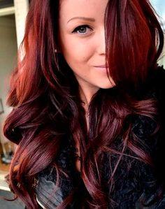 Veja 15 lindos cabelos ruivos acaju e aprenda como conseguir os tons! http://salaovirtual.org/cabelos-acaju/ #coresdecabelo #cabeloacaju #salaovirtual