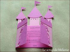 > Invitation anniversaire château <