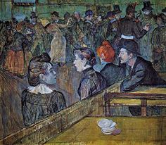 Toulouse-Lautrec, At Moulin de la Galette 1889