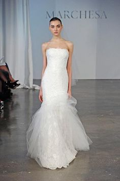 Go here for your dream wedding dress and fashion gown!https://www.etsy.com/shop/Whitesrose?ref=si_shopMarchesa | Fall 2013