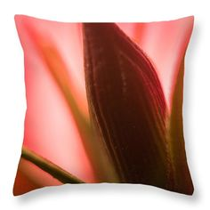 """Any Day Now Throw Pillow 14"""" x 14"""" by Marnie Patchett"""