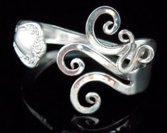Pulsera tenedor joyería de plata en diseño de lujo por MarchelloArt