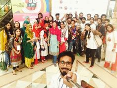 Volunteers - Backbone of 7th Lahore Int'l. Children's Film Festival 2015  Www.thelittleart.org  #TLAORG #LICFF #LICFF15 #KIDS #CHILDREN #HAPPINESS