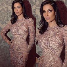 The beauty queen Nadine Nassib Njeim in Zuhair Murad dress <3