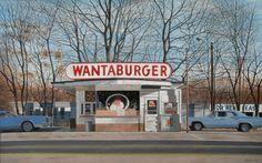 john baeder art John Baeder, realism, photorealism American