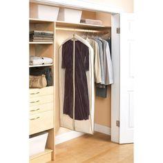Mainstays Canvas Dress Bags, Brownstone Trim, 3-Pack, Beige