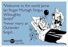 Hah so true - my boys middle names are Mackenzie and MacGregor - guess what I was reading during the pregnancies!