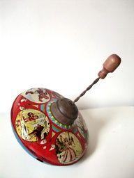 Tin Toy Top