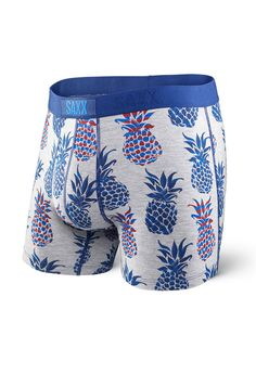 The wait is over! Online now http://gotstyle.com/products/saxx-vibe-boxer-in-pineapple-bomb?utm_campaign=social_autopilot&utm_source=pin&utm_medium=pin