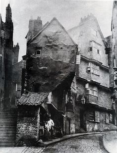 Steep Street - Host Street to Griffin Lane -road line altered and became Colston Street. 1871 Joseph Dann chimney sweeper Edward Robins umbrella maker John Murphy newsagent Rosamond Holloway marine stores John Weeks boot make Victorian London, Victorian Life, Vintage London, Victorian Street, London History, British History, Asian History, Tudor History, Old Pictures