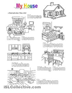 Kids Love English: Parts of the House Great idea for kids