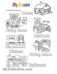 Describing my house  Elementary  Preintermediate
