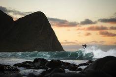 Lofoten surfing by RedBullPhotography