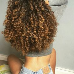 Love the volume. you can tell the ends of her hair are healthy.