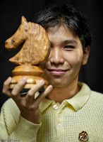 International Grandmaster Wesley So, the Philippines' top chess player.