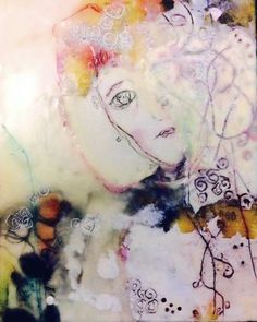 Encaustic - Sandra Fantino 2015