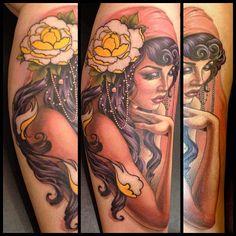 gypsy woman tattoo - Google Search