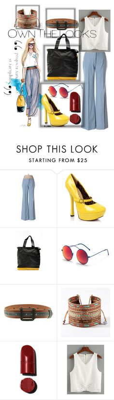 """""""Untitled #84"""" by navya-naveli ❤ liked on Polyvore featuring Laundry by Shelli Segal, Crash Baggage, Spektre, HUGO and Mishky"""