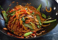 Healthy Vegetable Lo Mein, by thewoksoflife.com