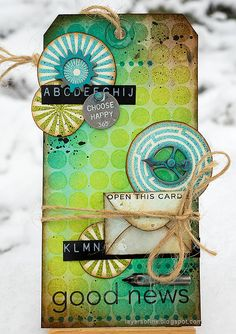 Layers of ink - Water Stenciling Video Tutorial by Anna-Karin Evaldsson. Made with stamps and stencils by Simon Says Stamp. Hope You Are Well, Mixed Media Techniques, Ink In Water, Ranger Ink, Distress Oxide Ink, Pen Nib, Distressed Painting, Small Cards, Simon Says Stamp