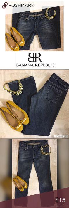 Banana Republic Low Rise Bootcut Jeans Size 4 L32 Banana Republic Low Rise Jeans Size 4 Length 32 Stretch Banana Republic Jeans Boot Cut