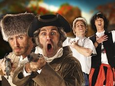 Epic Rap Battle of History: Lewis and Clark vs Bill and Ted [Video] - Geeks are Sexy Technology NewsGeeks are Sexy Technology News