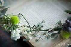 ナチュラルグリーン花冠