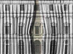 VELVET BUILDING Illusion Jokes Line by Wallpepper