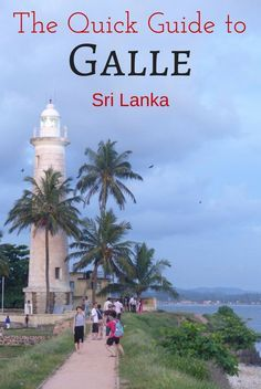 Quick guide to Galle and Unawatuna Sri Lanka including the best things to do in Galle, Unawatuna Beach, best hotels in Galle, where to eat, how to get here, etc