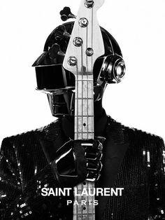 Daft Punk - Saint Laurent   Photo: Hedi Slimane