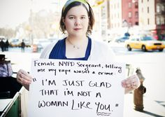 This woman, moments after her rape last year, had to scream and cry on a public street just so the police would actually take her to the precinct - they wouldn't because they told her what happened wasn't a crime. || CLICK THROUGH FOR FULL STORY