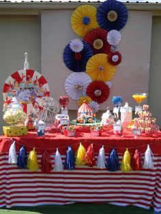 Circus Theme Birthday Party Ideas | Photo 2 of 19 | Catch My Party