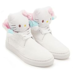 """bc4f85987daadc Sanrio has teamed up with sneaker company Ubiq to produce the """"Mascot  Fatima""""—a Hello Kitty-themed shoe that blurs the line between sneakers and  a plush ..."""