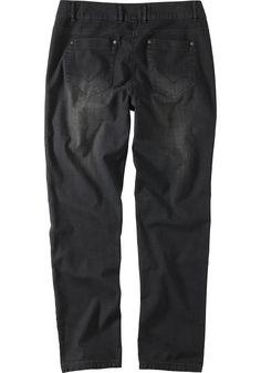 Typ , Jeans,  Materialzusammensetzung , 98% Baumwolle, 2% Elasthan,  Waschung , used-Waschung,  Passform , lässig, weit,  Länge , N-Gr. ca. 78 cm. L-Gr. ca. 85 cm. K-Gr. ca. 73 cm,  Optik , oben mit Bundfalten,  Vordertaschen , seitliche Eingrifftaschen,  Gesäßtaschen , hinten 2 aufgesetze Taschen,   ...