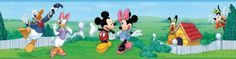 Disney Mickey  Friends Room Border 5x15 *** Click on the image for additional details.