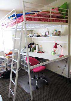 Ubokia | IKEA Tromso Loft Bed w/ Desk