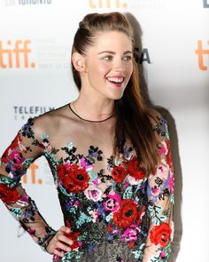 Kristen Stewart at TIFF for the On the Road premiere