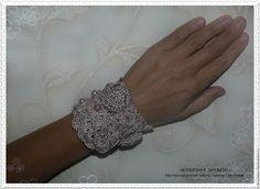 Buy Bracelet cuff in BOHEMIAN style - cuff bracelets jewelry, bridal bracelet handmade