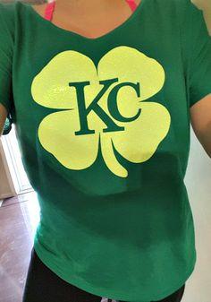 St. paddy's Day!  Shamrock KC