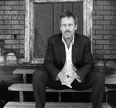 Hugh Laurie. I have become a reluctant fan of the TV show House. Predominately because of his amazing performance.