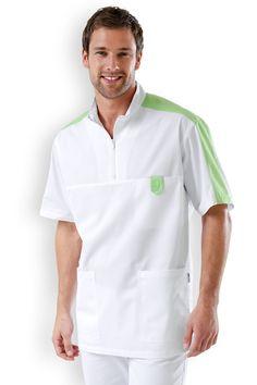 Scrubs Outfit, Scrubs Uniform, Men In Uniform, Dental Shirts, Dental Scrubs, Doctor Coat, Corporate Wear, Medical Uniforms, Stylish Coat