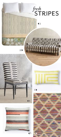 Playing with Pattern: Fresh Stripes