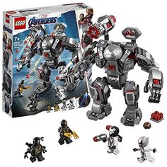 Buy LEGO Marvel Avengers 76124 War Machine Buster Action Figure from our Construction Toys range at John Lewis & Partners. Lego Marvel's Avengers, Avengers Team, Lego Marvel Super Heroes, Lego Batman, Films Marvel, Marvel Comics, Marvel Avengers Movies, Lego Technic, Game Of Thornes