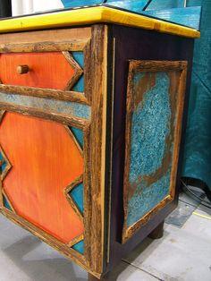 Azul Copper Furniture Piece