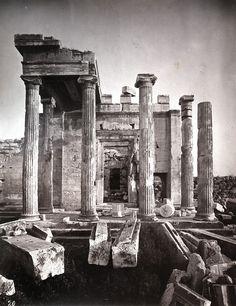 William J. Stillman, Portico of the Pandrosium Athens 1868