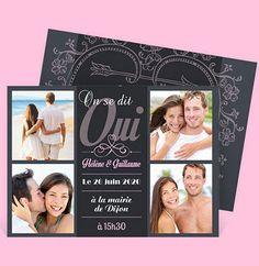 Faire-part mariage réf. N14117 chez monFairePart.com
